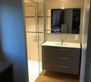 La salle de bain de Sébastien G. à La Marne